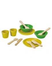 Serwis obiadowy, drewniany zestaw do zabawy, Plan Toys®