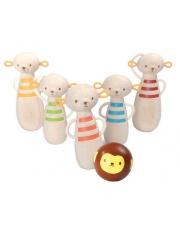 Drewniane kręgle małpki, Plan Toys®