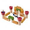 Fotografia, na której jest Drewniane klocki Zamek rycerski, Plan Toys®