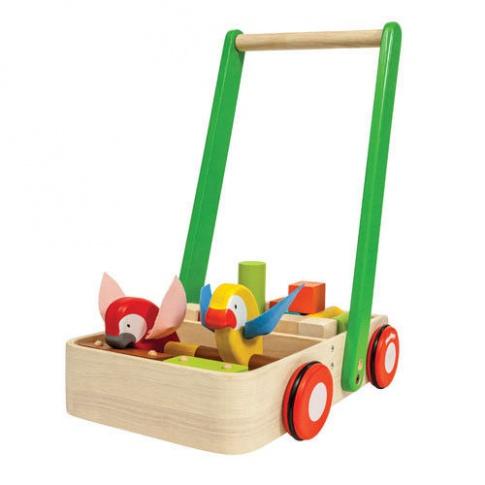 Fotografia, na której jest Drewniany chodzik z ptaszkami, Plan Toys®