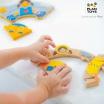 Fotografia, na której jest Układanka, puzzle, Ubranka na każdą porę roku, Plan Toys®
