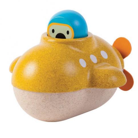 Fotografia, na której jest Zabawka do kąpieli - Łódź podwodna, Plan Toys®