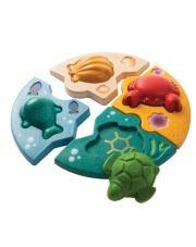 Układanka - puzzle zwierzęta morskie, Plan Toys®