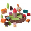 Fotografia, na której jest Akcesoria do mas plastycznych: Miasto, Plan Toys®