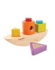 Drewniany sorter w kształcie łódki, Plan Toys®