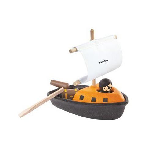 Fotografia, na której jest Drewniany statek piracki | Plan Toys®