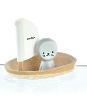 Żaglówka z foczką - zabawka do kąpieli | Plan Toys®