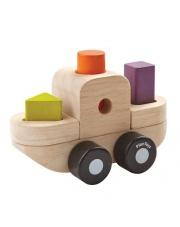Drewniany sorter w kształcie statku | Plan Toys®