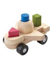 Drewniany sorter w kształcie samolotu | Plan Toys®