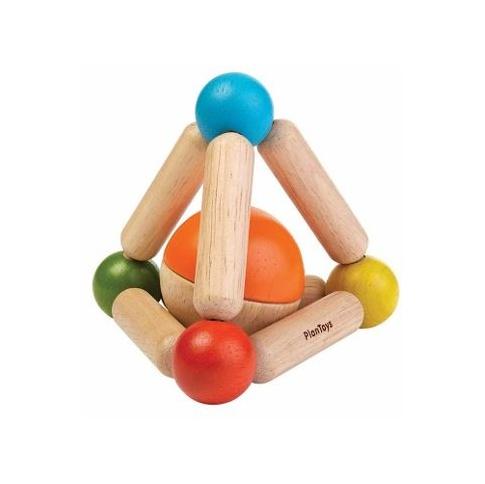 Fotografia, na której jest Grzechotka trójkąt manipulacyjny | Plan Toys®