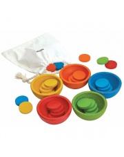 Sortuj i licz kolorowe żetony | Plan Toys®