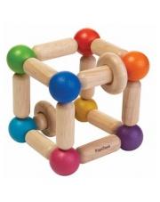 Grzechotka manipulacyjna sześcian | Plan Toys®