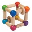 Fotografia, na której jest Grzechotka manipulacyjna sześcian | Plan Toys®