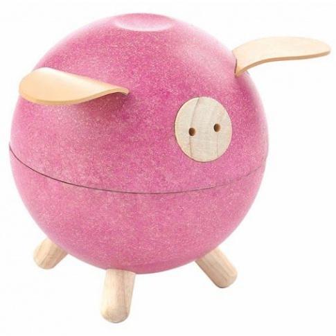 Fotografia, na której jest Skarbonka świnka, kolor różowy | Plan Toys®