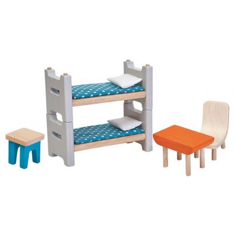 Fotografia, na której jest Drewniane mebelki, Pokój dziecięcy | Plan Toys®