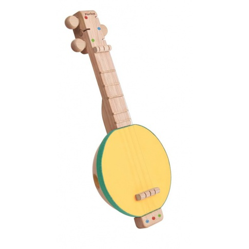 Fotografia, na której jest Banjolele, zabawka muzyczna | Plan Toys®