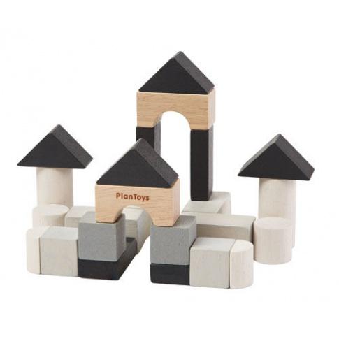Fotografia, na której jest Klocki drewniane, seria MINI   Plan Toys®