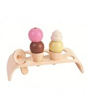 Pastelowa drewniana lodziarnia, Plan Toys 3486