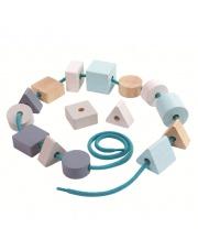 Nawlekanka pastelowa Geo | Plan Toys®