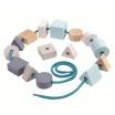 Fotografia, na której jest Nawlekanka pastelowa Geo | Plan Toys®