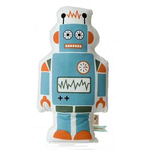 Fotografia, na której jest Poduszka Mr. Robot duży - ferm LIVING