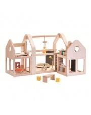 Składany, drewniany domek dla lalek | Plan Toys®