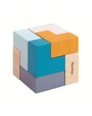 Mini układanka logiczna, sześcian | Plan Toys®