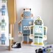 Fotografia, na której jest Poduszka Mr. Robot mały - ferm LIVING