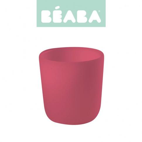 Fotografia, na której jest Beaba Silikonowy kubek pink