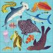 Fotografia, na której jest Mudpuppy Puzzle magnetyczne Zwierzęta lądowe i wodne 4+