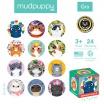 Fotografia, na której jest Mudpuppy Gra Mini Memory Koty