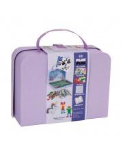 Plus-Plus,kartonowa walizka Mini 400 HIT (300Pastel+100Neon+płytka+książeczka)