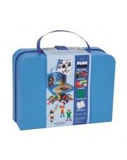 Plus-Plus,kartonowa walizka Mini 400 HIT (300Basic+100Neon+płytka+książeczka)