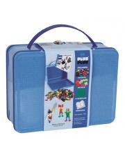 Plus-Plus, metalowa walizka Mini 600 HIT! (500Basic+100Neon+płytka+książeczka)