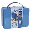 Fotografia, na której jest Plus-Plus, metalowa walizka Mini 600 HIT! (500Basic+100Neon+płytka+książeczka)