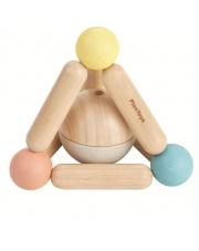 Pastelowa grzechotka piramidka, Plan Toys®