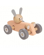 Pastelowa rajdówka z królikiem, Plan Toys®