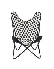 Krzesło BUTTERFLY w kropki - Bloomingville