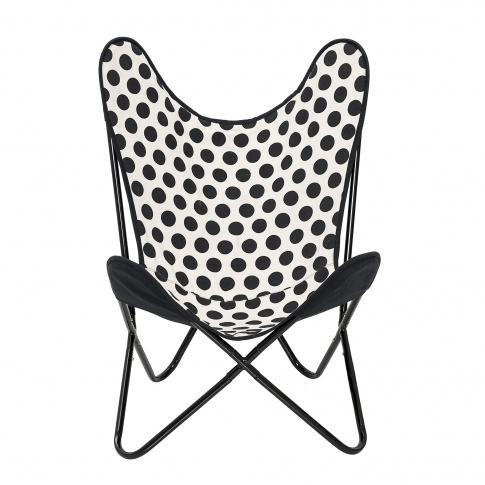 Fotografia, na której jest Krzesło BUTTERFLY w kropki - Bloomingville