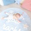 Fotografia, na której jest Dywan okrągły BABY, YOU ROCK! - Mr Wonderful & Lorena Canals