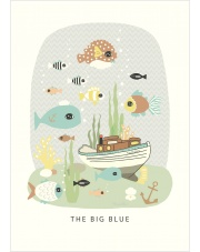 Plakat The Big Blue - Majvillan