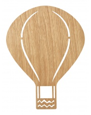 Lampa BALON - jasny dąb - ferm LIVING
