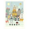 Fotografia, na której jest Plakat Robot - Majvillan