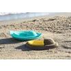 Fotografia, na której jest QUUT Foremka wielofunkcyjna do piasku i do kąpieli Łódka Sloopi