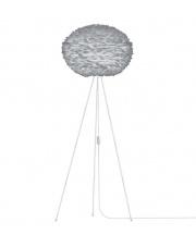 Lampa podłogowa Eos L szara / podstawa biała - UMAGE