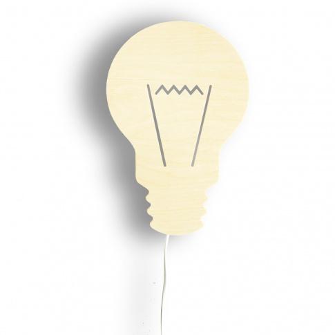 Fotografia, na której jest Lampka nocna ŻARÓWKA - NOBOBOBO