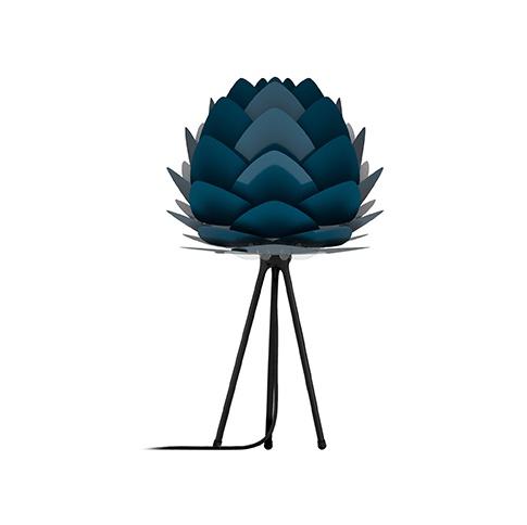 Fotografia, na której jest Lampka nocna / stołowa ALUVIA - UMAGE | petrol blue