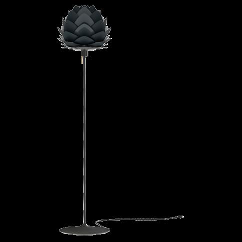 Fotografia, na której jest Lampa podłogowa ALUVIA Champagne Floor - UMAGE | anthracite grey