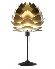 Lampka nocna ALUVIA Champagne Table - UMAGE | brushed brass