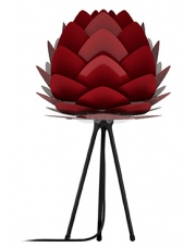 Lampka nocna / stołowa ALUVIA - UMAGE | ruby red